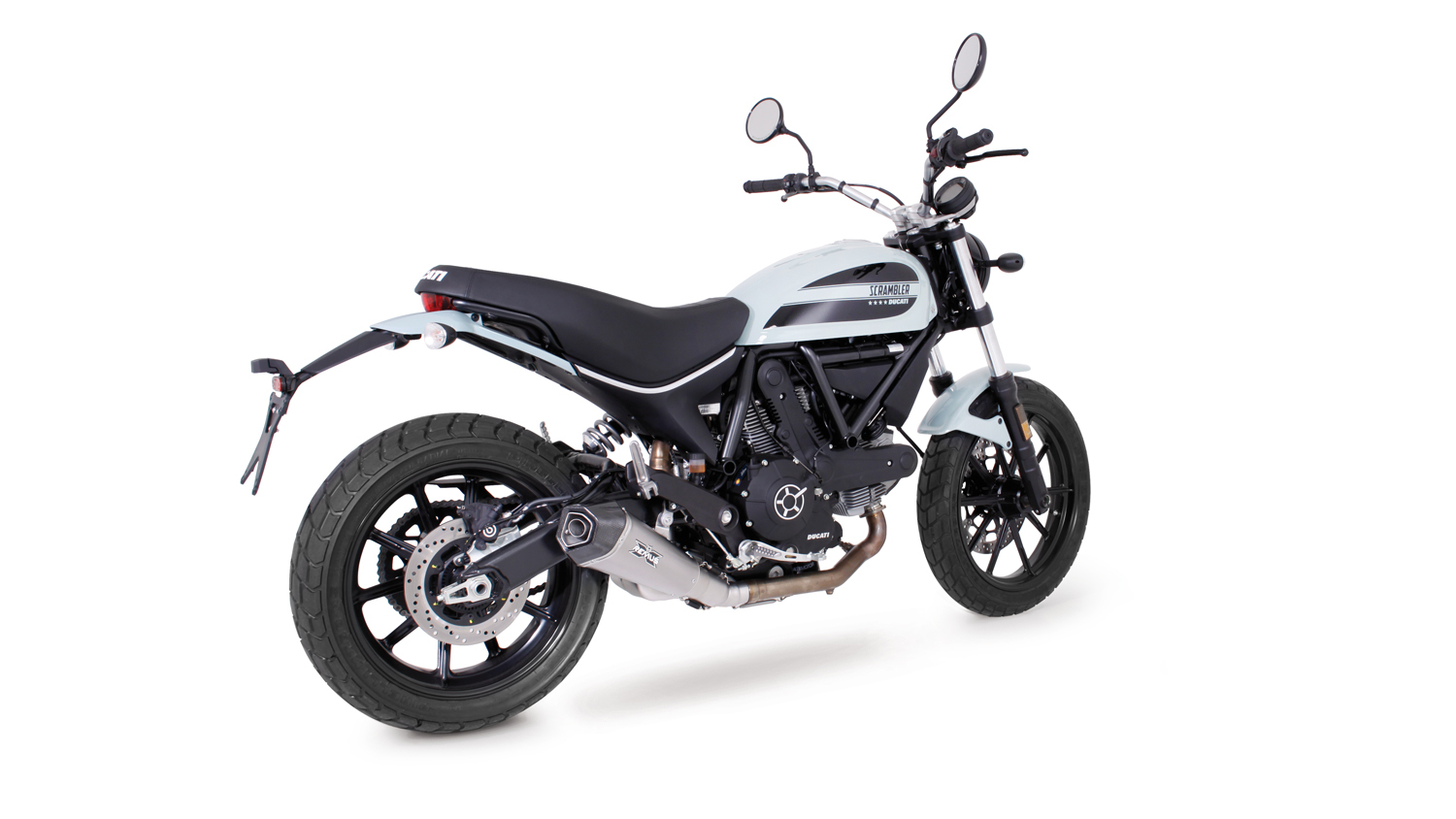 REMUS HYPERCONE silencieux titane Ducati Scrambler Sixty2, CEE - Image 1